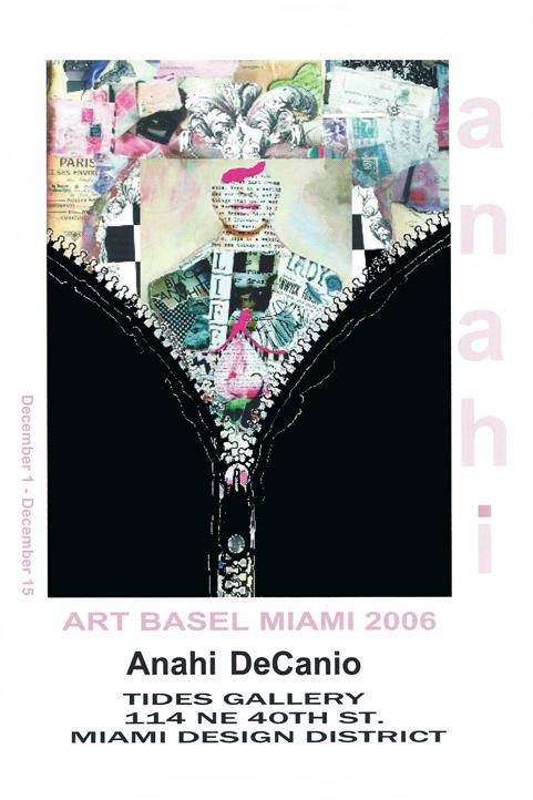 Anahi - Tides Gallery - Art Basel Miami 2006
