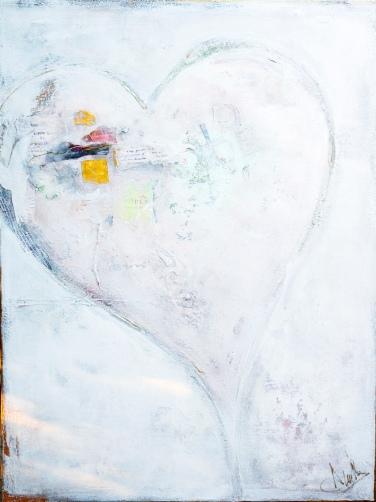 Mixed media on canvas - by Anahi DeCanio - ArtyZen Studios