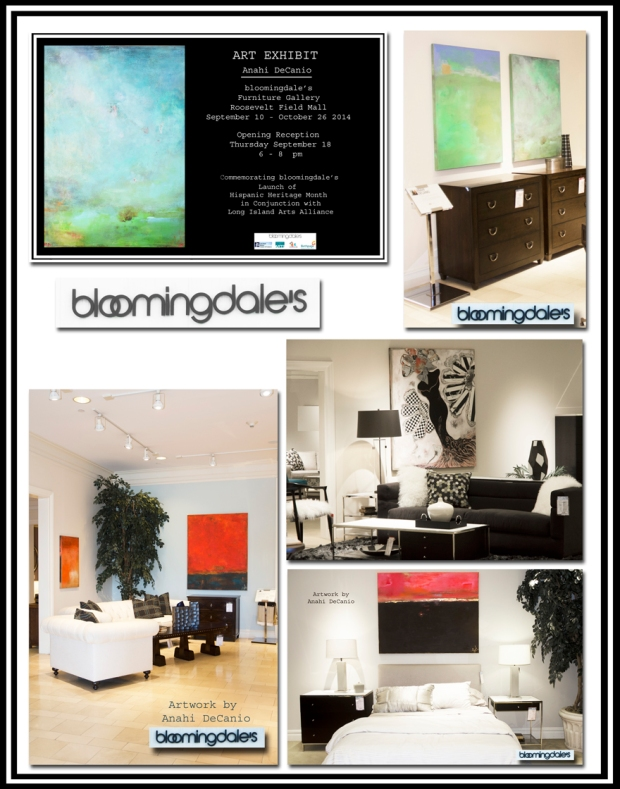 Anahi DeCanio Artwork at Bloomingdales