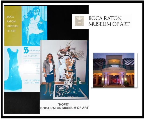 BOCA RATON MUSEUM EXHIBIT