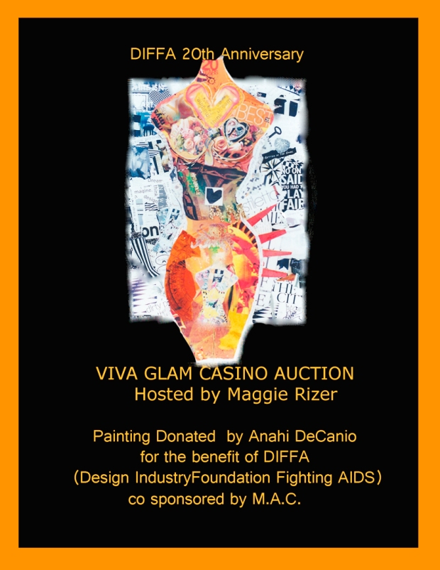 DIFFA DONATION - GLAM CASINO 2