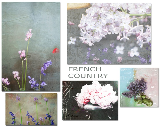 FRENCH COUNTRY FLORALS
