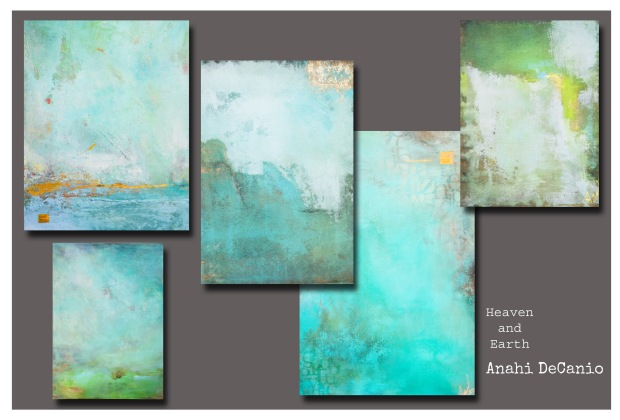 FINE ART SAMPLES - HEAVEN AND EARTH by Anahi DeCanio