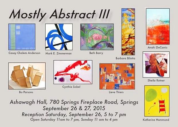 Ashawagh Hall - Mostly Abstracts III