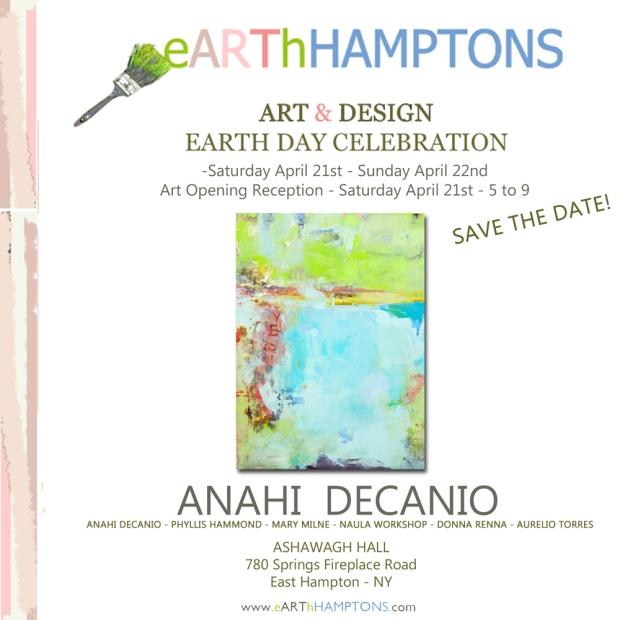 2018 - earthhamptons ANAHI DECANIO EARTH DAY HAMPTONS ANAHI DECANIO
