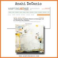 MOSTLY ABSTRACT VI - Anahi DeCanio - HamptonsArtHub
